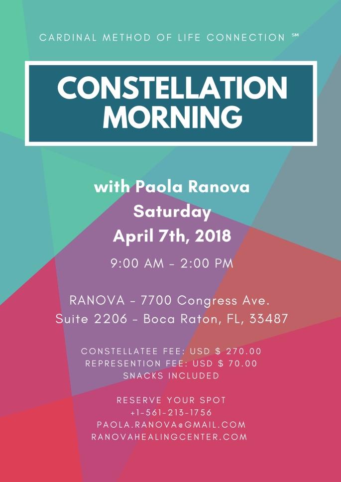 CMLC CONSTELLATION APRIL 7TH 2018